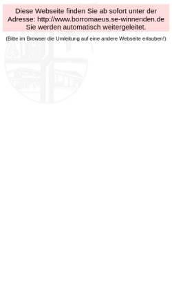 Vorschau der mobilen Webseite www.katholische-kirche-winnenden.de, Katholische Kirchengemeinde Winnenden