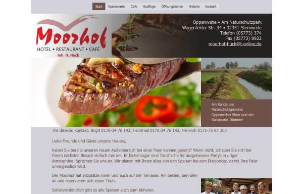 Vorschau von www.moorhof-oppenwehe.de, Moorhof Oppenwehe