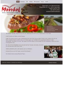 Vorschau der mobilen Webseite www.moorhof-oppenwehe.de, Moorhof Oppenwehe