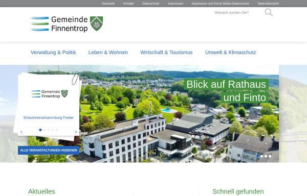 Vorschau von www.finnentrop.de, Gemeinde Finnentrop
