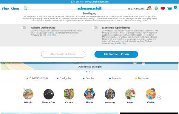 Vorschau von www.playmobil.de, Playmobil