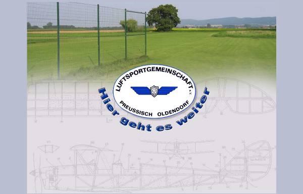 Vorschau von www.lsg-preussischoldendorf.de, Luftsportgemeinschaft Preussisch Oldendorf