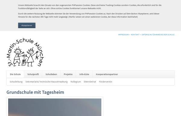 Vorschau von www.st-martin.musin.de, Grundschule St. Martin