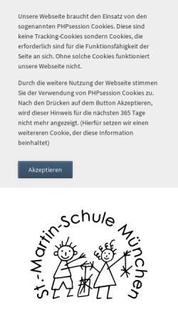 Vorschau der mobilen Webseite www.st-martin.musin.de, Grundschule St. Martin