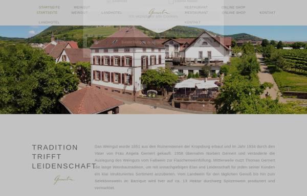 Vorschau von www.weingutgernert.de, Weingut Gernert