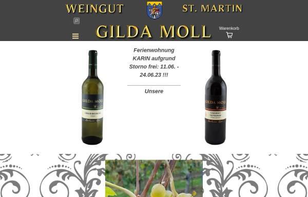 Vorschau von www.weingut-gilda-moll.de, Weingut Gilda Moll
