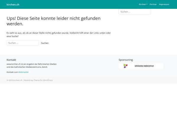 Vorschau von www.kirchen.ch, Kopflos? - Führerlos!