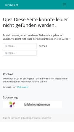 Vorschau der mobilen Webseite www.kirchen.ch, Kopflos? - Führerlos!