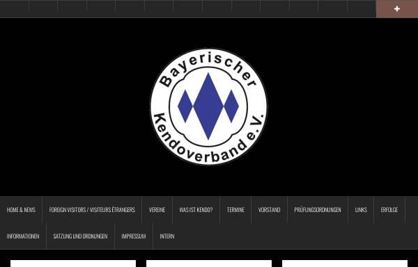 Vorschau von www.bkenv.de, Bayerischer Kendoverband e.V.