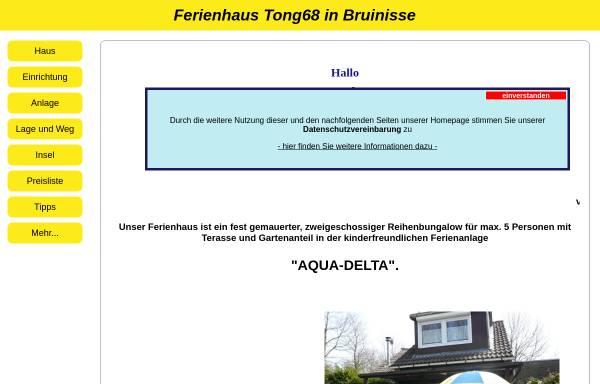 Vorschau von www.ferienhaus-holland-bruinisse.de, Ferienhaus Familie Steiner