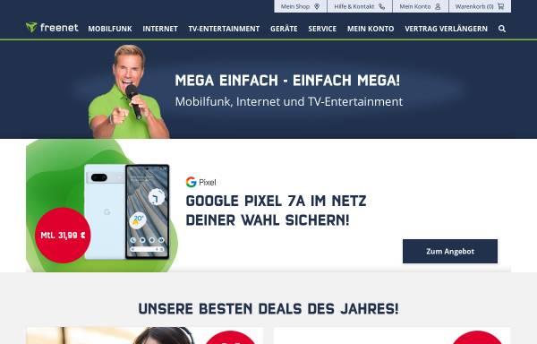 Vorschau von www.debitel.de, debitel AG