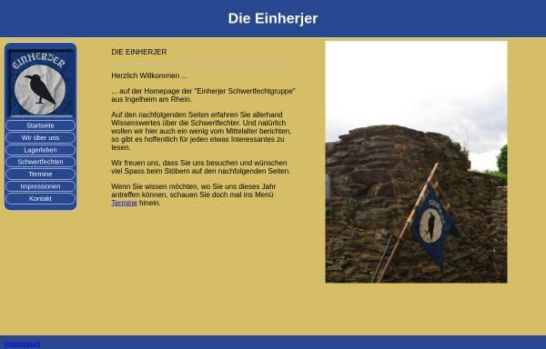 Vorschau von www.dieeinherjer.de, Die Einherjer