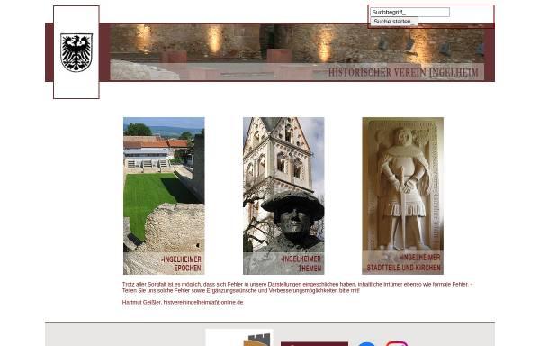 Vorschau von www.ingelheimer-geschichte.de, Historischer Verein Ingelheim e.V.