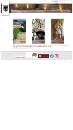 Vorschau der mobilen Webseite www.ingelheimergeschichte.de, Ingelheimer Geschichte