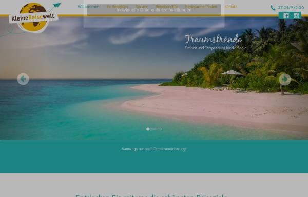 Vorschau von www.kleine-reisewelt.de, Kleine Reisewelt