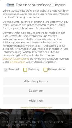 Vorschau der mobilen Webseite www.pcpointer.de, PCPointer.de