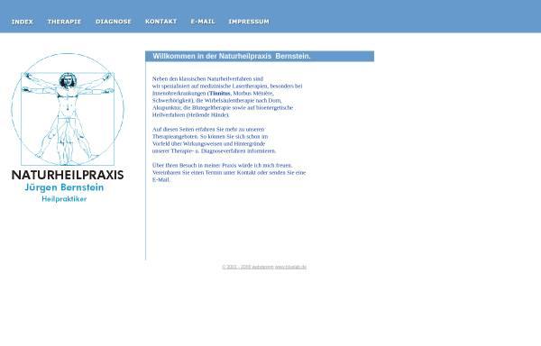 Vorschau von www.naturheilpraxis-bernstein.de, Naturheilpraxis-Bernstein