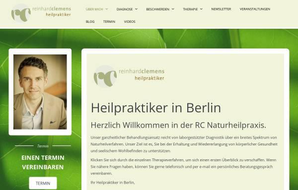 Vorschau von www.rc-naturheilpraxis.de, RC Naturheilpraxis Reinhard Clemens