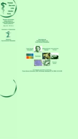 Vorschau der mobilen Webseite www.hp-schneider.de, Simone Schneider