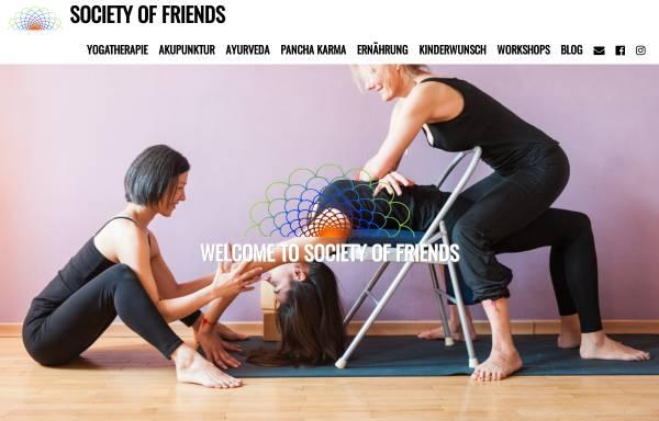 Vorschau von societyoffriends.de, Society of Friends