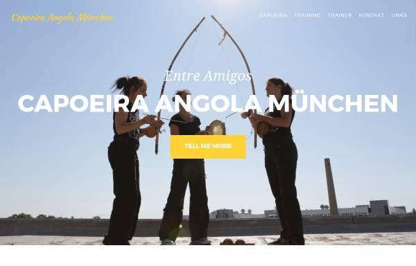 Vorschau von www.capoeira-angola-nigolo.tanzcult.net, Capoeira Angola München Nigolo e.V.