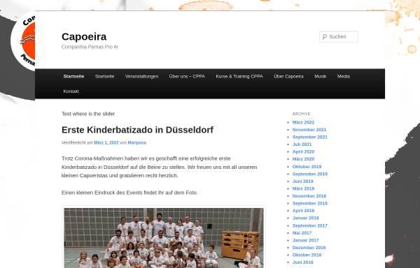Vorschau von www.capoeira.de, Capoeira Pernas pro Ar, Köln-Düsseldorf