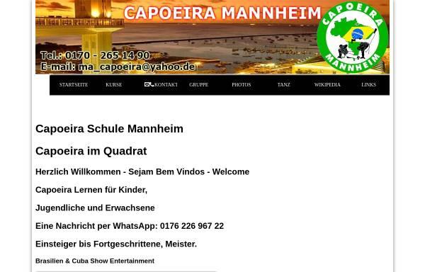 Vorschau von www.capoeira-ma.de, Gruppo A Senzala, Mannheim