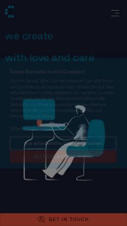 Vorschau der mobilen Webseite www.cyberhouse.at, Cyberhouse GmbH