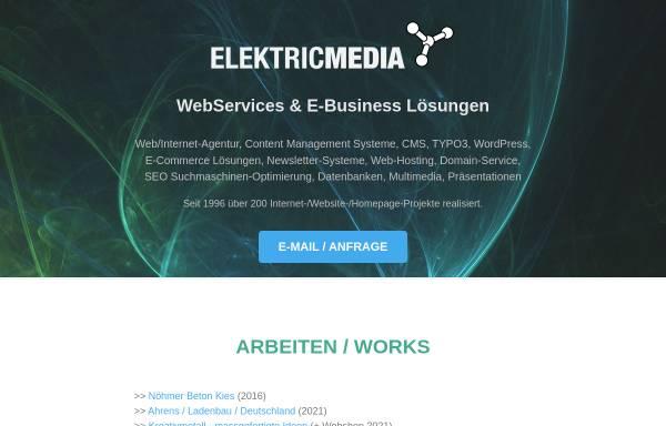 Vorschau von www.elektricmedia.com, Elektricmedia