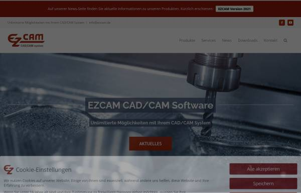 Ezcam Solutions GmbH: Computer Aided Manufacturing, CAD und CAM ez ...