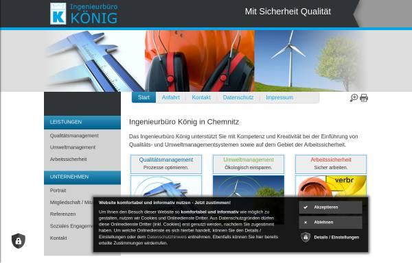 Vorschau von www.ibk-chemnitz.de, Ingenieurbüro König