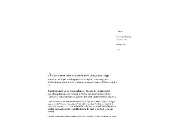 Vorschau von www.aufgebot1474.de, Nürnberger Aufgebot 1474