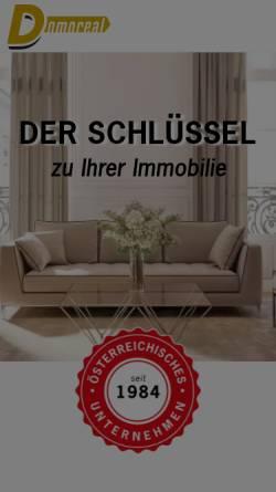 Vorschau der mobilen Webseite www.domoreal.at, Domo Gebäudeverwaltungs- und Realitäten GmbH