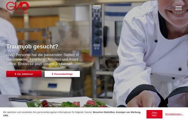 Vorschau von www.gvo-personal.de, GVO Personal GmbH