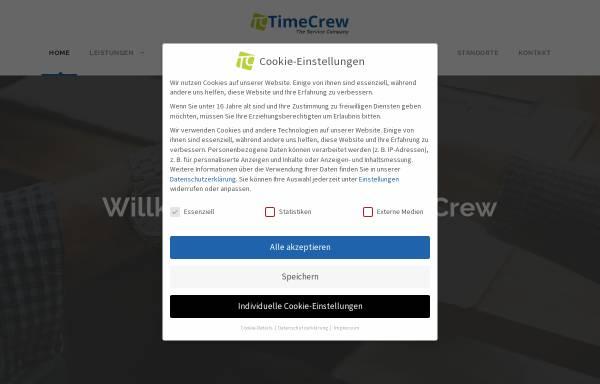 Vorschau von www.timecrew.de, Timecrew GmbH