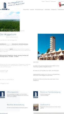 Vorschau der mobilen Webseite www.müggelturm.berlin, Der Müggelturm