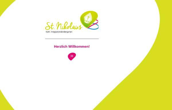 Vorschau von www.kinder-st-nikolaus.de, Katholischer Integrationskindergarten St. Nikolaus Rosenheim