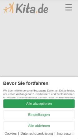 Vorschau der mobilen Webseite www.kita.de, KiTa.de