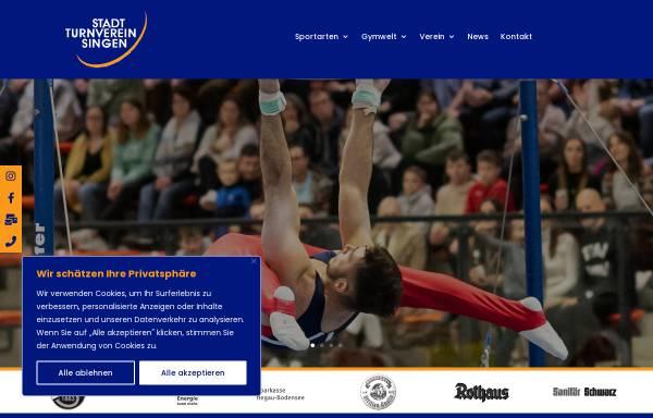 Vorschau von www.sttv-singen.de, Stadt-Turnverein 1883 e.V.