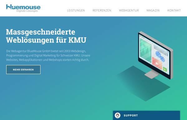 Vorschau von www.bluemouse.ch, BlueMouse GmbH