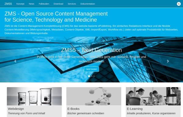 Vorschau von www.zms-publishing.com, ZMS
