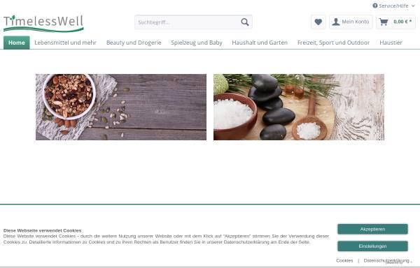 Vorschau von www.timeless-well.de, TimelessWell, Heidrun Schwörer