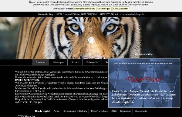 Vorschau von www.dandydesign.de, DandyDesign