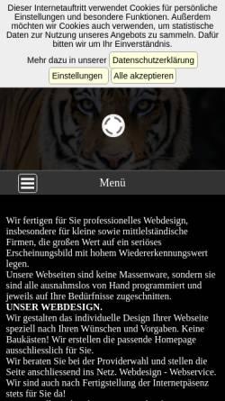 Vorschau der mobilen Webseite www.dandydesign.de, DandyDesign