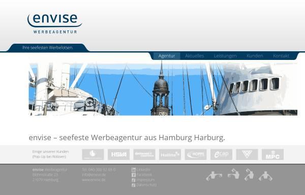 Vorschau von www.envise.de, Envise