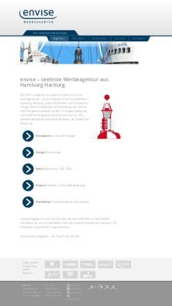 Vorschau der mobilen Webseite www.envise.de, Envise