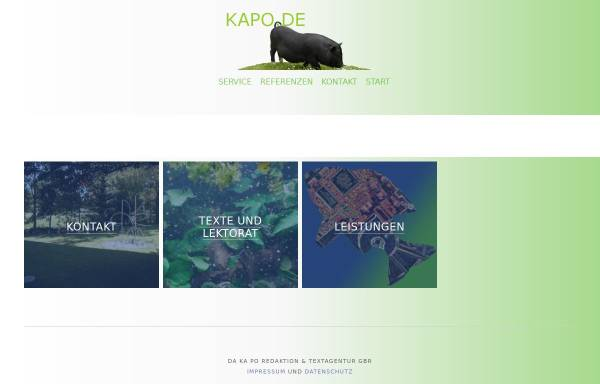 Vorschau von www.kapo.de, Kapo.de Kaltschmidt & Poschmann GbR