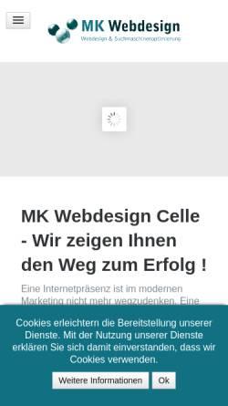 Vorschau der mobilen Webseite seodesign.de, Matthias Klöpping