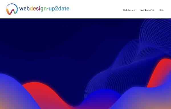 Vorschau von www.webdesign-up2date.de, Matthias Richter