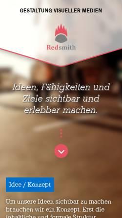 Vorschau der mobilen Webseite www.redsmith.de, Redsmith Guido Hache